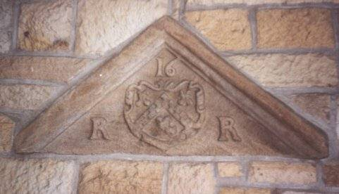 One of the marriage lintels